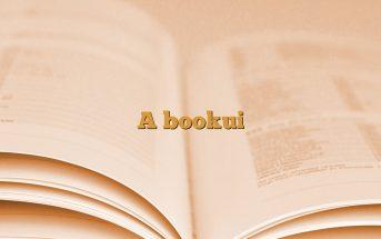A bookui