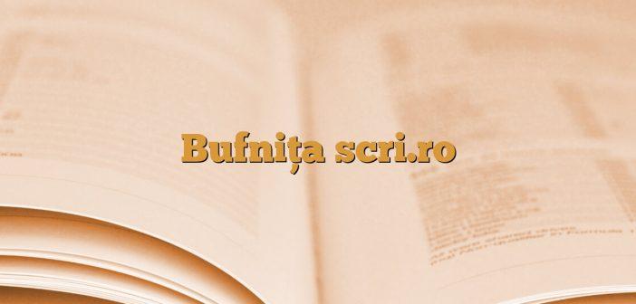 Bufnița scri.ro