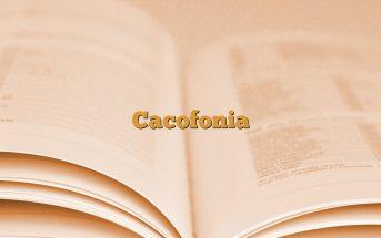 Cacofonia