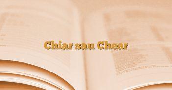 Chiar sau Chear