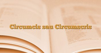 Circumcis sau Circumscris