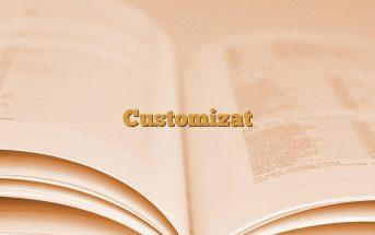 Customizat