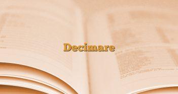 Decimare