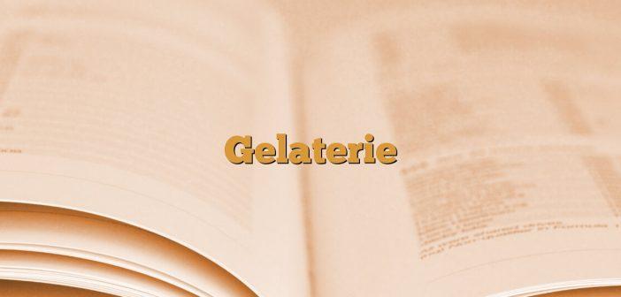 Gelaterie