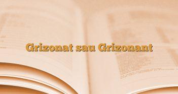 Grizonat sau Grizonant