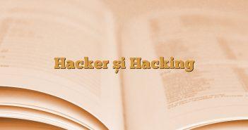 Hacker și Hacking