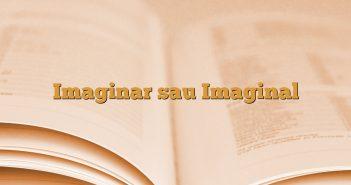 Imaginar sau Imaginal
