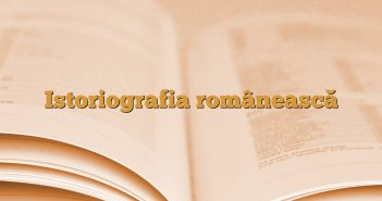 Istoriografia românească