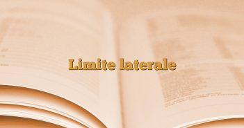 Limite laterale