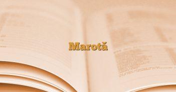Marotă