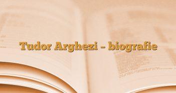Tudor Arghezi – biografie