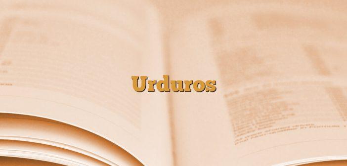 Urduros