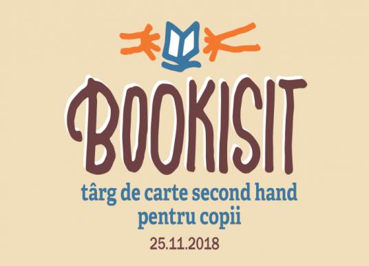 Bookisit – târg de carte second hand pentru copii