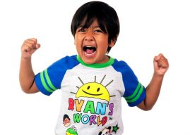 Ryan Kaji, un băiat de 8 ani, cel mai bogat Youtuber din lume