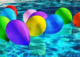 Experiment: cum să faci baloane colorate de gheață