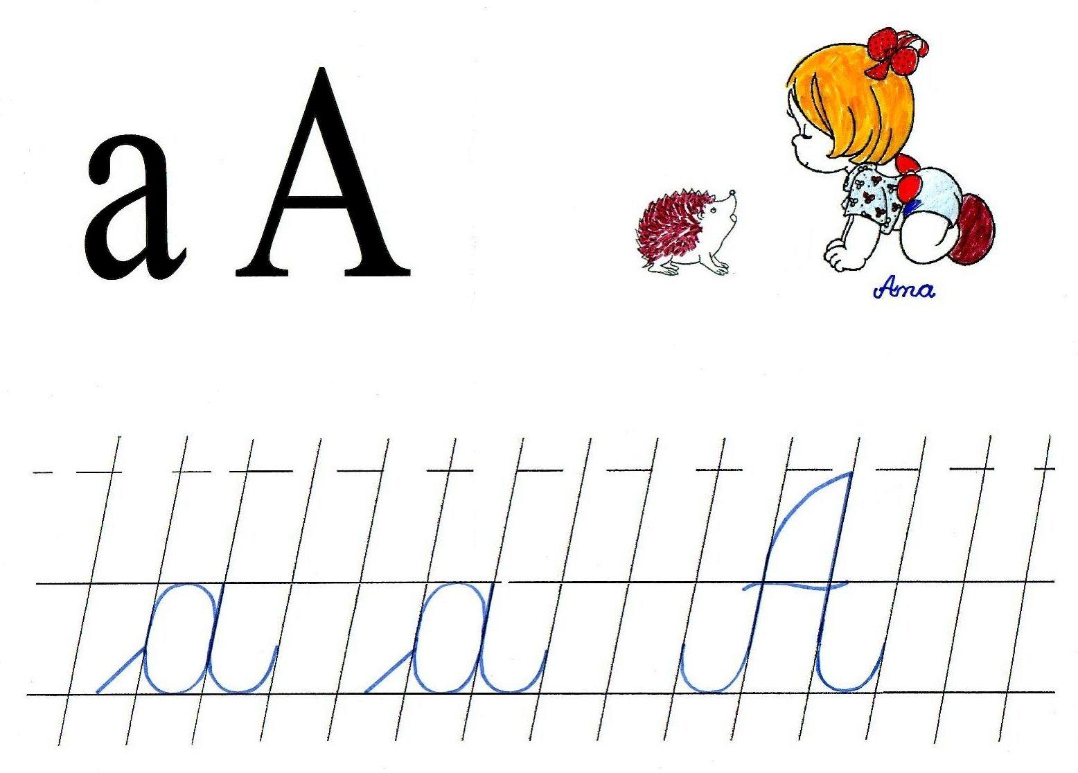Abecedar Alfabetul Romanesc Online Anideșcoalăro